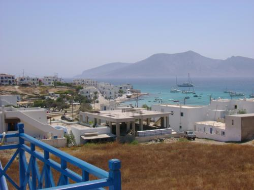 Panoramic view of the village and the sea!